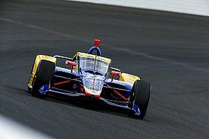 Rossi al frente en segunda práctica libre en Alabama con O'Ward top 10