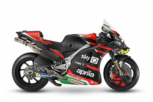 Fotogallery MotoGP: l'Aprilia RS-GP di Espargaro e Savadori