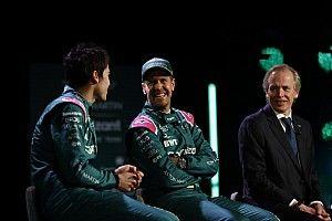 Vettel Strollról nyilatkozott: Erős nyers tempóval rendelkezik