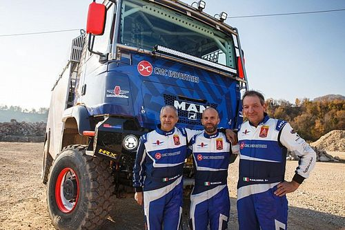 Dakar: Team Orobica Raid al via con due camion evoluti