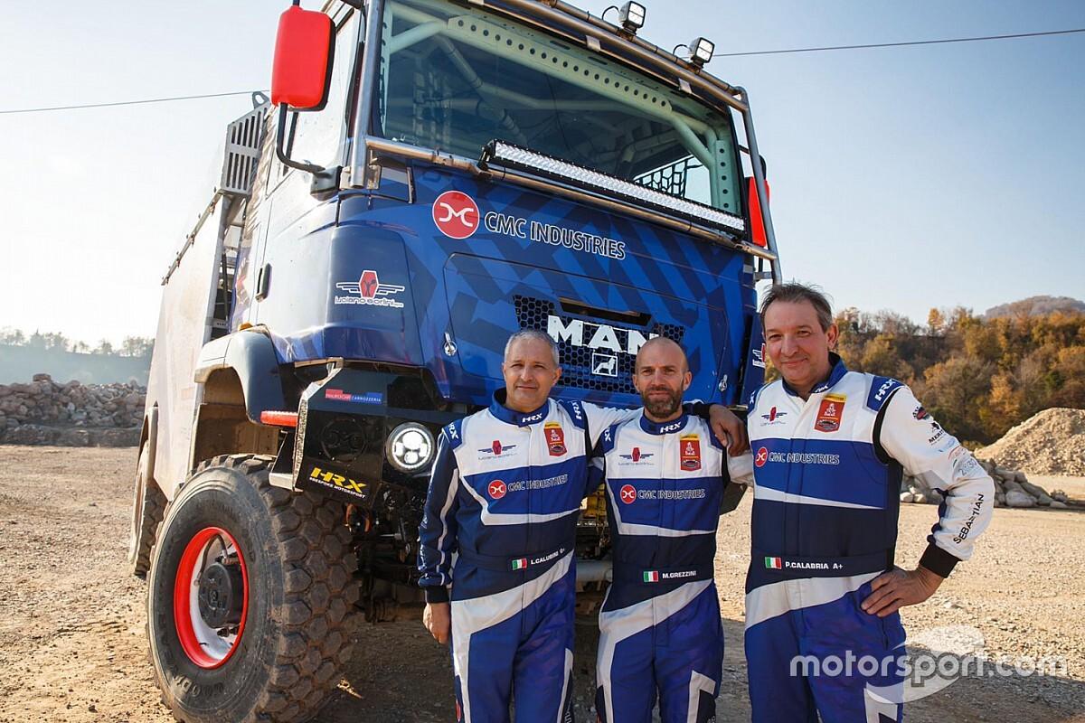 Dakar: Team Orobica Raid al via con due camion evoluti