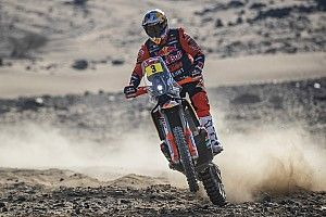 Dakar, Moto, Tappa 1: svetta Price, sprofonda Brabec