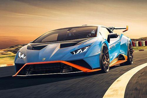 Lamborghini Huracan STO Hadir dalam Gim Rocket League