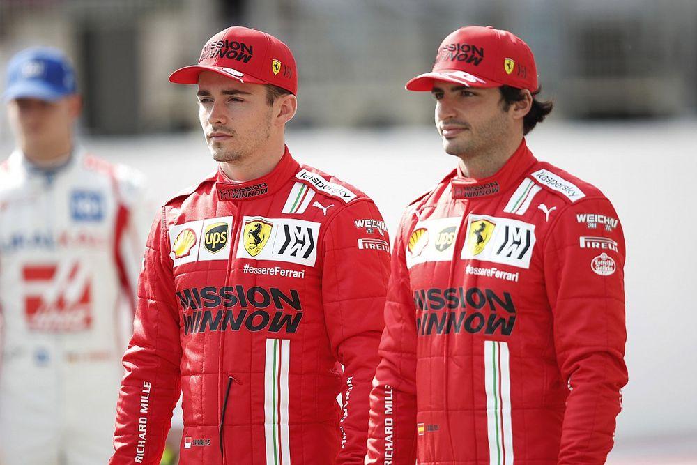 Leclerc já vê ambiente melhor na Ferrari com Sainz após saída de Vettel