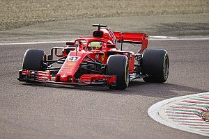 Mick Schumacher brilla con el Ferrari en Fiorano