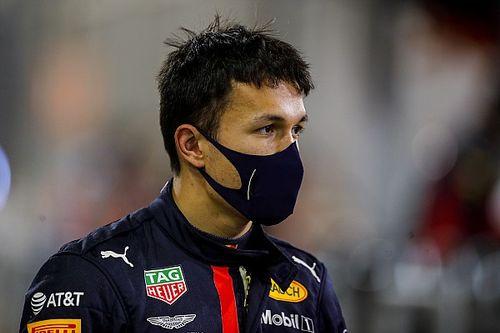 Albon, dolido por la decisión de Red Bull de elegir a Pérez