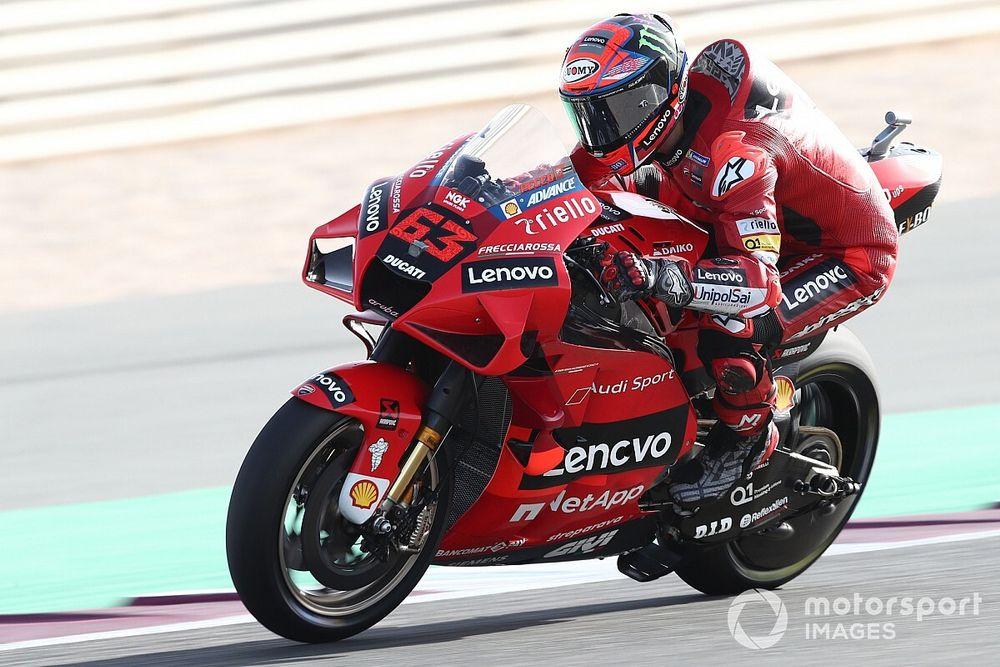 Баньяя начал карьеру в заводской Ducati с первого в карьере поула