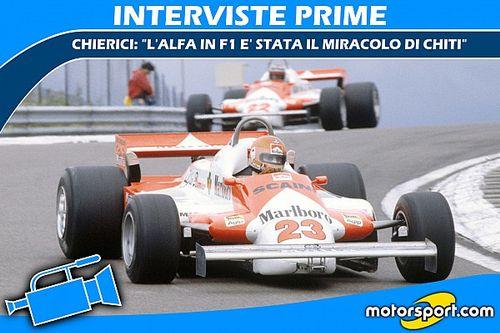 """Chierici: """"L'Alfa in F1 è stata il miracolo di Chiti"""""""