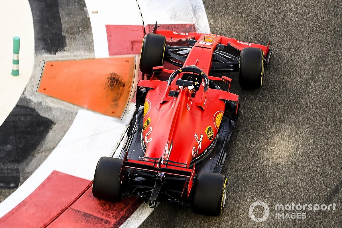 Így fest Sainz a Ferrariban - KÉP