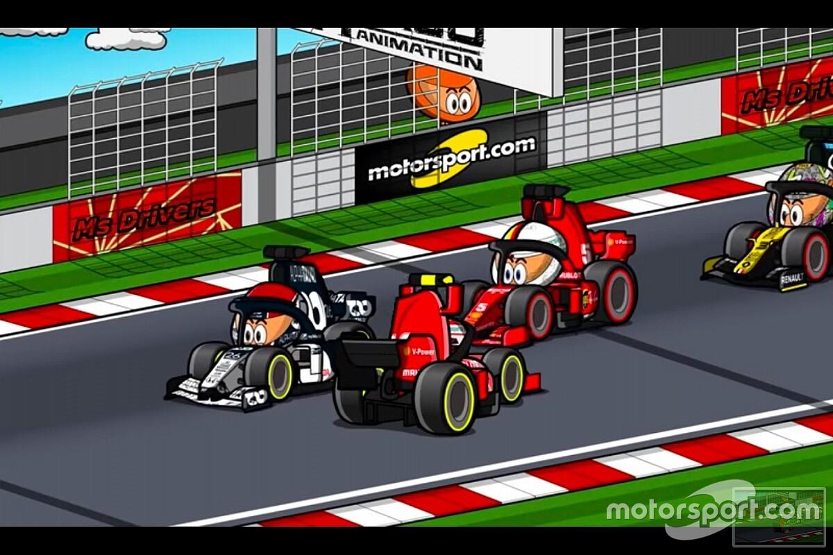 Vídeo: el GP de España de F1, con la visión de los Minis