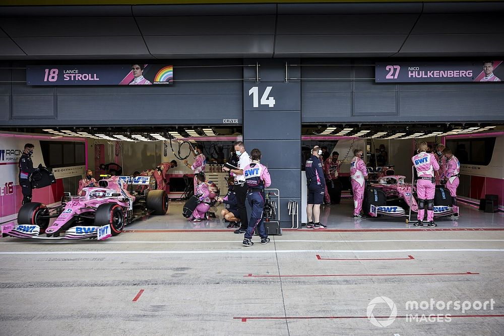 Racing Point explique la panne de Hülkenberg
