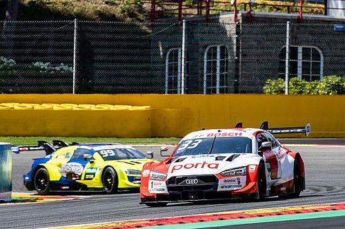 Spa DTM: Rast denies Frijns pole for second race