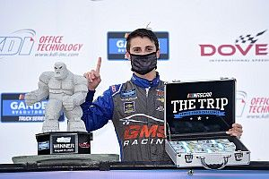 Zane Smith tops Crafton for Dover Truck win and $50,000 bonus