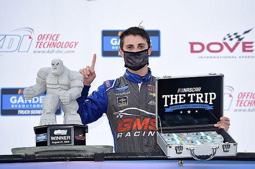 Zane Smith tops Crafton for Dover Truck win and $50,000 bonus