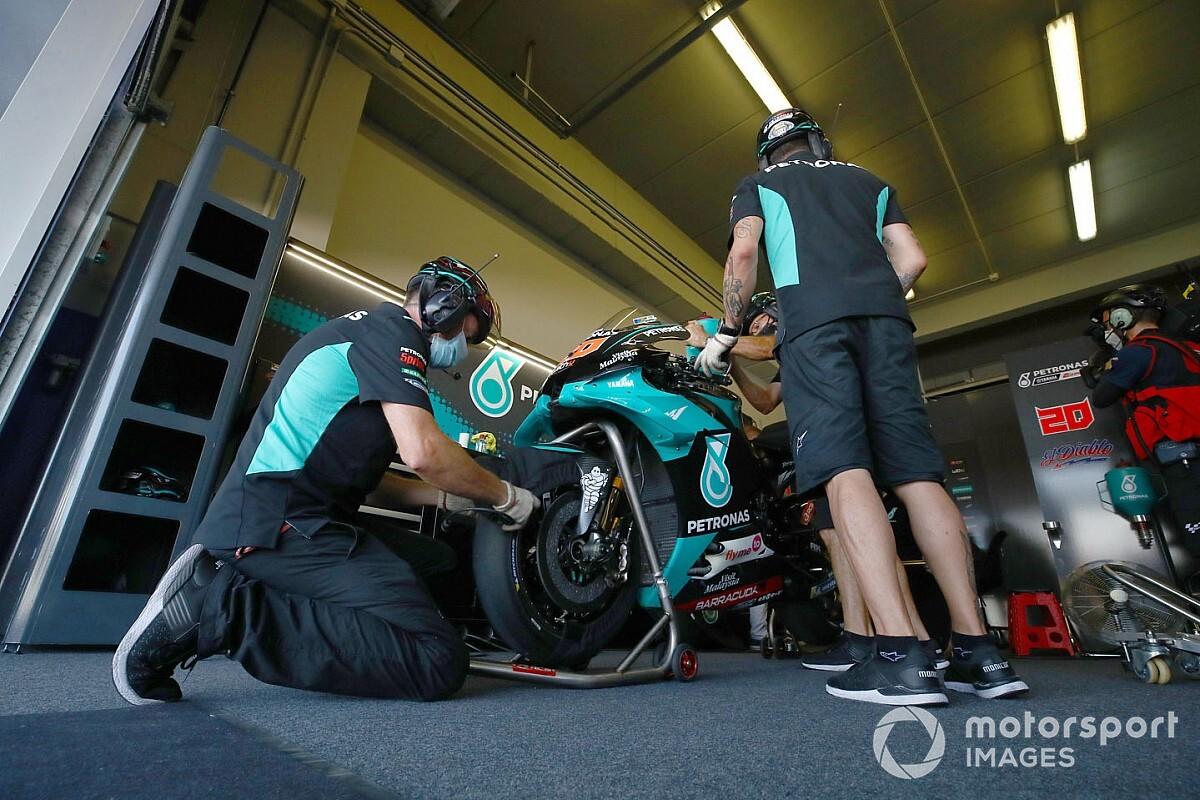 Michelin recomendó 'rodar' el neumático de la carrera en el warm up