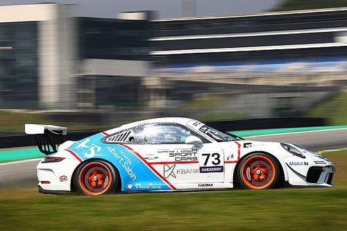 Porsche Cup: Enzo Elias supera Feldmann e vence corrida sob chuva em Interlagos na Carrera Cup