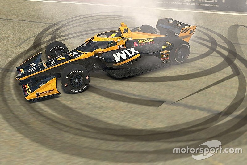 Karam beats Rosenqvist in IndyCar's first Esports race