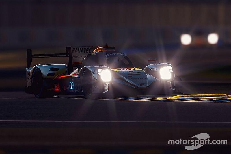 Leclerc y Verstappen sufren problemas en la noche de Le Mans virtual