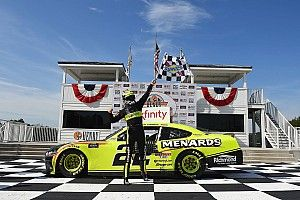 Cindric emerges as winner in crazy Road America Xfinity race