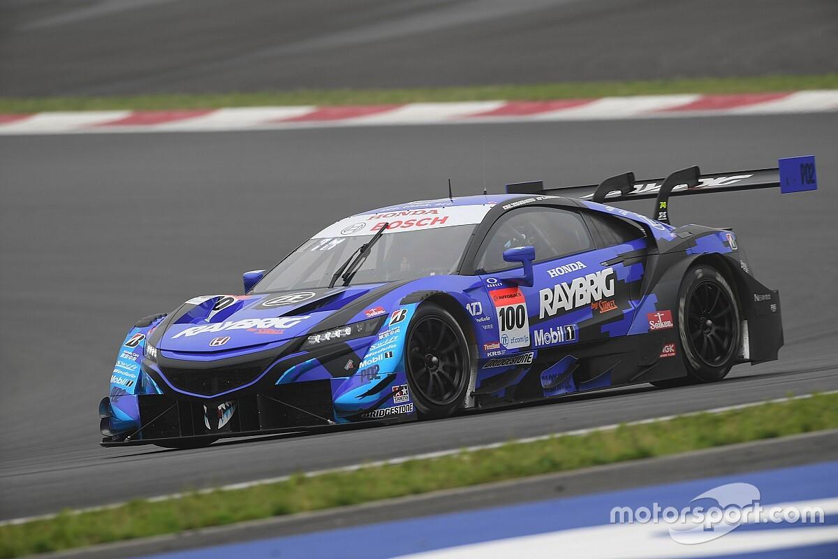 Fuji Super GT: Makino tops practice for Honda