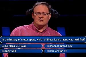 В «Кто хочет стать миллионером?» задали вопрос о гонках. Можно было выиграть миллион