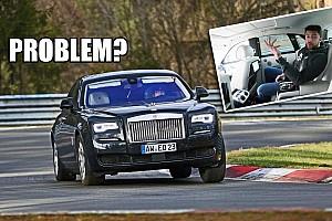 Ki mondta, hogy egy Rolls-Royce nem alkalmas egy kis nürburgringi csapatásra?