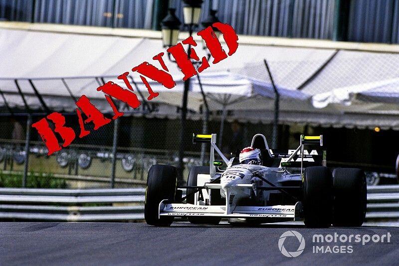 """Por qué los """"ceniceros"""" fueron prohibidos en la F1"""