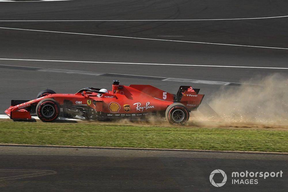 Silverstone installs new kerb to help avoid tyre damage