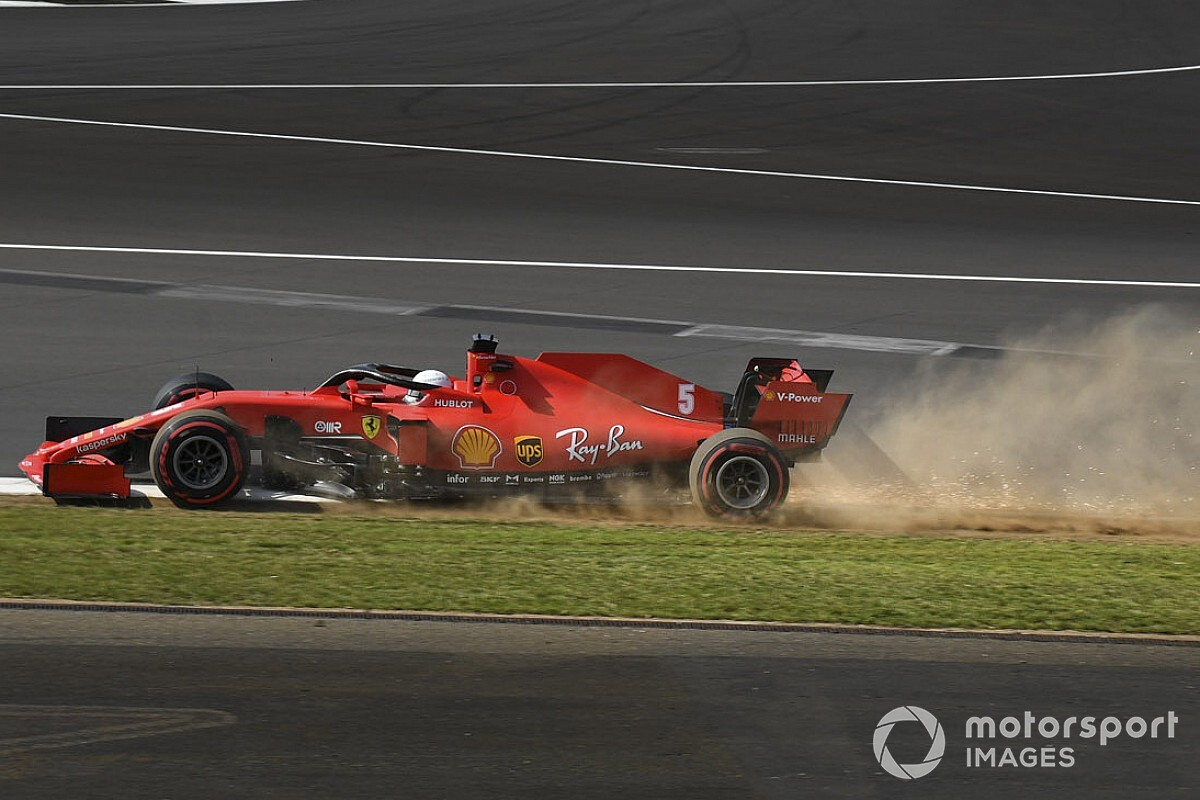 Silverstone installs new kerb to help avoid tyre damage