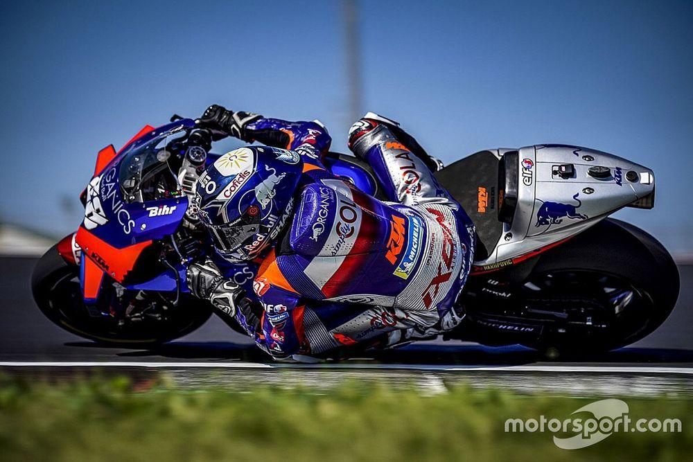 KTM sigue mandando en el segundo día del test de MotoGP en Misano