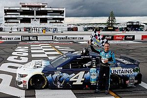Harvick not going to 'nitpick' missing out on Pocono sweep
