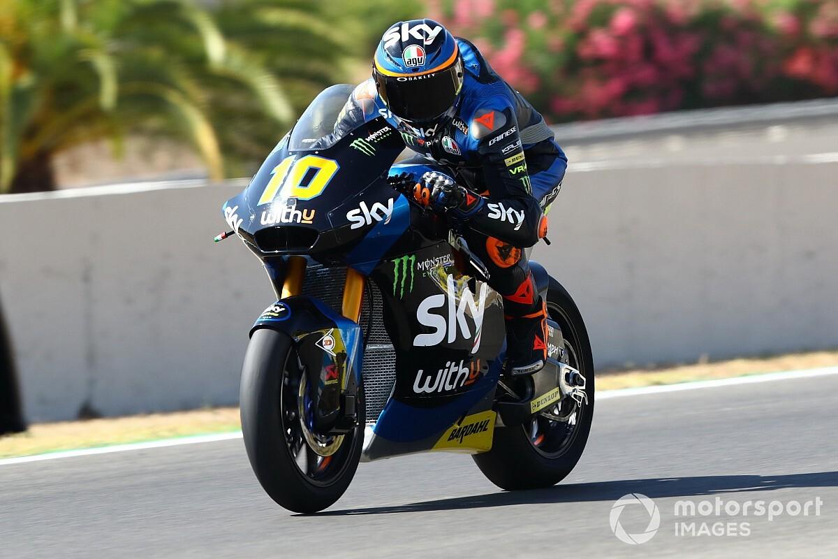 Moto2, Andalusia, Libere 2: Marini risponde presente