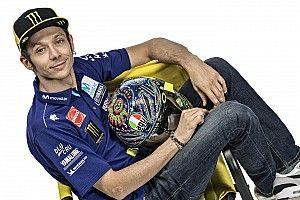 Kondisi fisik Rossi belum fit 100%