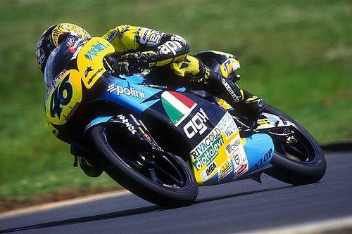 Así fue el debut de Valentino Rossi hace 25 años