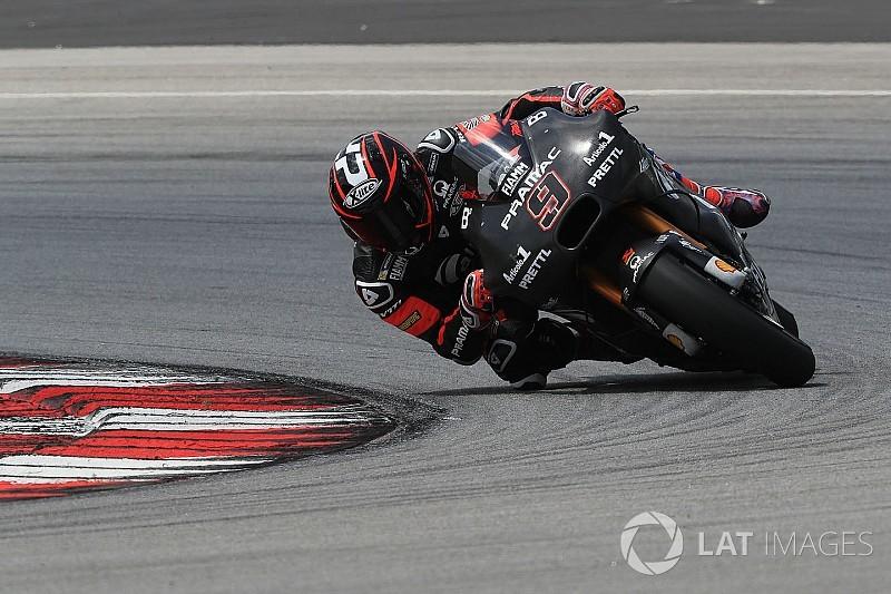 """Petrucci satisfait d'une Ducati GP18 """"moins nerveuse, plus stable"""""""