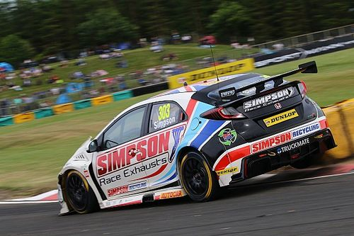 Simpson splits with Eurotech Honda BTCC squad
