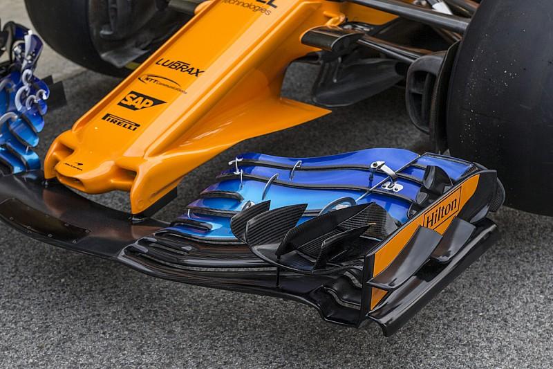 F1-es technikai képgaléria Barcelonából: McLaren, Red Bull…