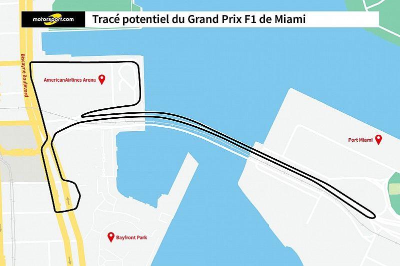 Un possible tracé du circuit de Miami révélé