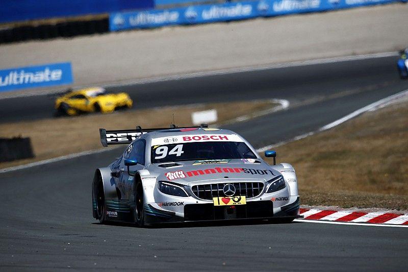 DTM Zandvoort: Wehrlein snelste in vierde training, problemen Frijns