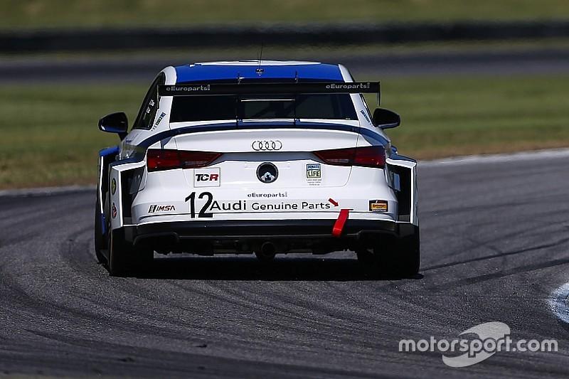 Prima vittoria in Classe TCR per l'Audi della eEuroparts.com Racing al Virginia International Raceway