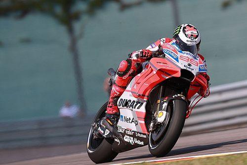 Sachsenring MotoGP: Lorenzo tops FP2, Rossi 17th