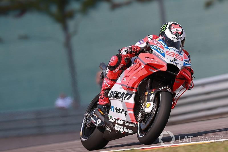 MotoGP Sachsenring: İkinci seansta Lorenzo lider, Rossi 17.