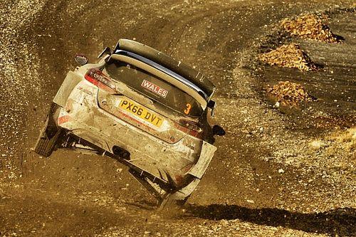 Galler WRC: Evans rahat şekilde lider, Ogier ikinciliğe yükseldi