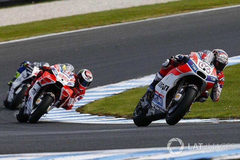 """Ducati œuvre """"sur chaque aspect"""" de sa moto, spécialement le châssis"""
