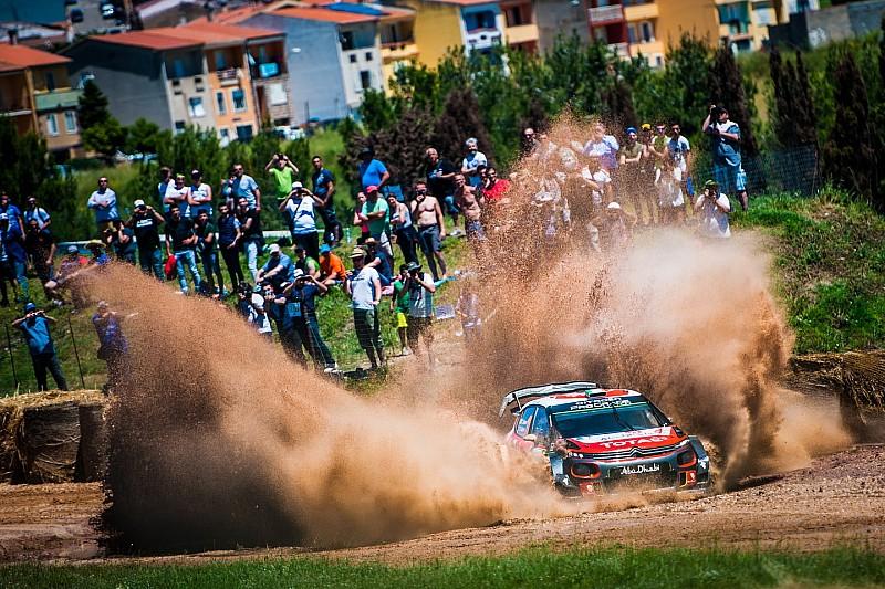 Fotogallery: il combattutissimo Rally d'Italia Sardegna 2018