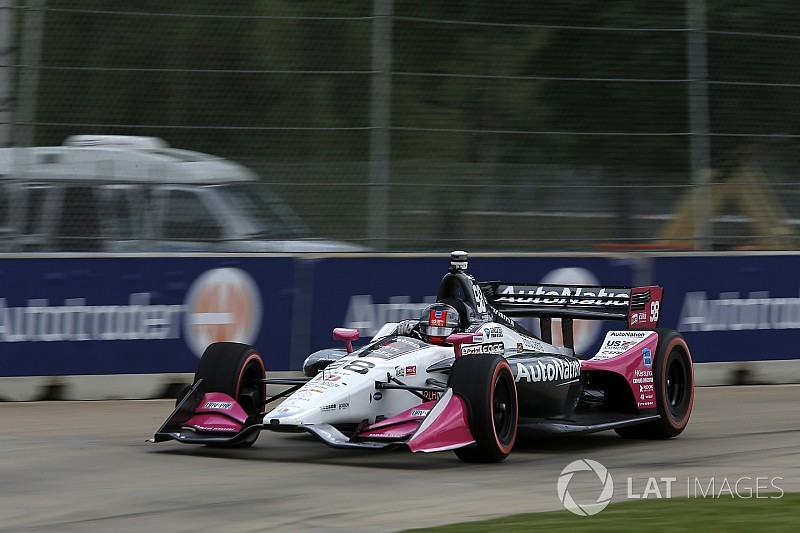 Detroit IndyCar: Andretti takes brilliant pole for Race 1