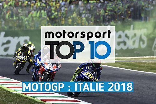 Vidéo - Le top 10 du GP d'Italie