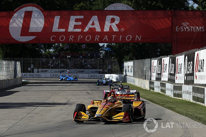Hunter-Reay supera Rossi e vence em Detroit; Kanaan é 7º