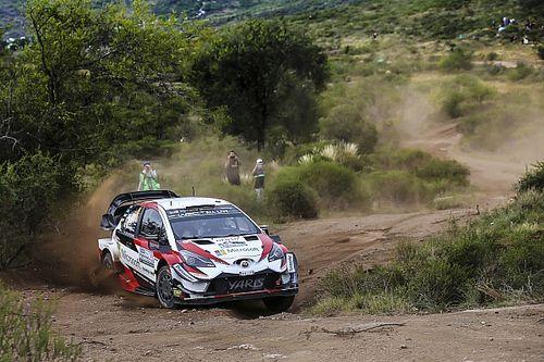 WRC Rallye Argentinien: Tänak nach Mikkelsen-Pech klar vorn