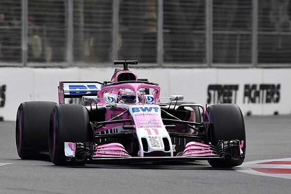Renault drivers surprised by Force India Baku speed